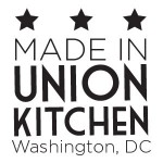 Proudly made at Union Kitchen in Washington DC