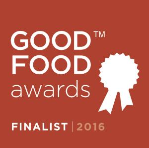 Good Food Awards Finalist Seal 2016