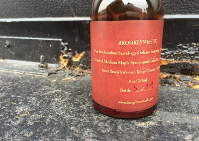 Brooklyn Bourbon Maple Syrup