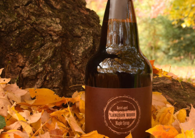 Bourbon Barrel-Aged Maple Syrup