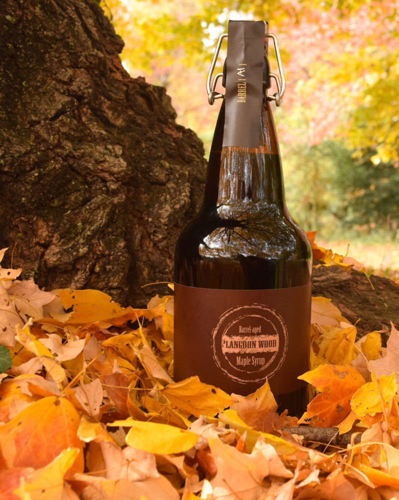 LIMITED EDITION Bourbon Barrel Aged Maple Syrup - Brooklyn Edition