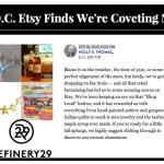 News: Refinery 29 Etsy Picks 2014