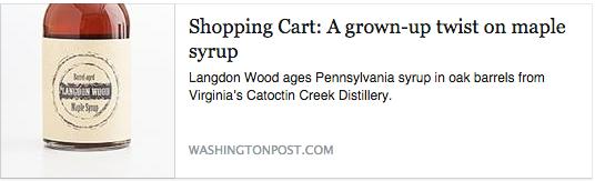 News: Washington Post Shopping Cart 2015